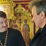 Константино-Всехсвятский храм Ростова посетил правнук священномученика Константина Верецкого