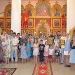 23 февраля в храме Святых царственных страстотерпцев города Хуахин (Тайланд) почтили память святого Донской земли священномученика Константина Верецкого.